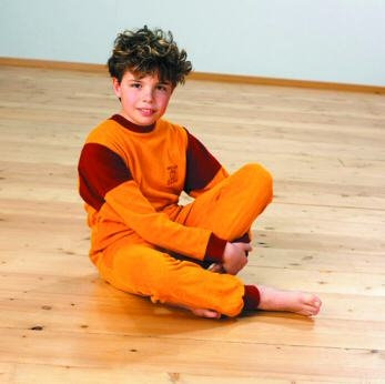 4care Kinder Overall Frottee ohne Fuesse