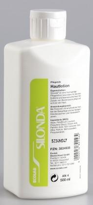 Silonda 500ml Hautlotion