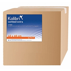 Kolibri Krankenunterlagen 40x60cm 6LG Extra gelb 300 St. Karton