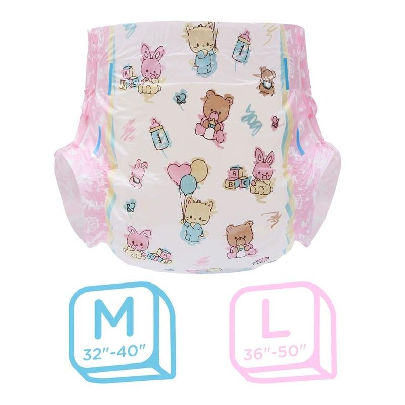 LFB Baby Cuties Adult Diaper, Large , Einzelstueck