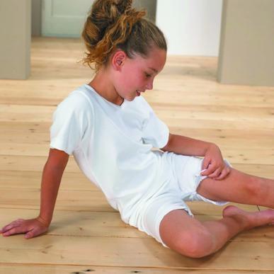 4care Kinder Body, Reissverschluss im Ruecken und im Schritt