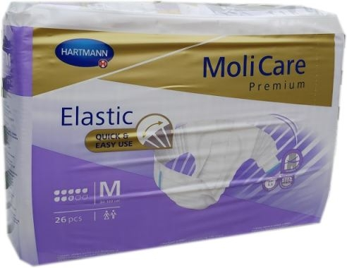Molicare Premium Elastic super plus, medium weiss/lila ,15.25.03.1128 ,26er Packung
