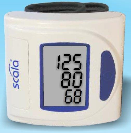 Scala Handgelenk-Blutdruckmessgeraet SC 6400