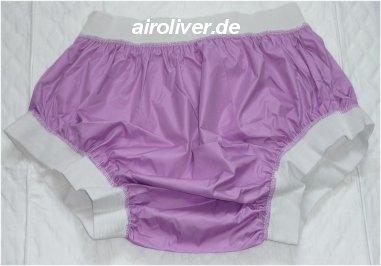 2208 PU Ueberziehschutzhose No.1007 pink breiter Bund