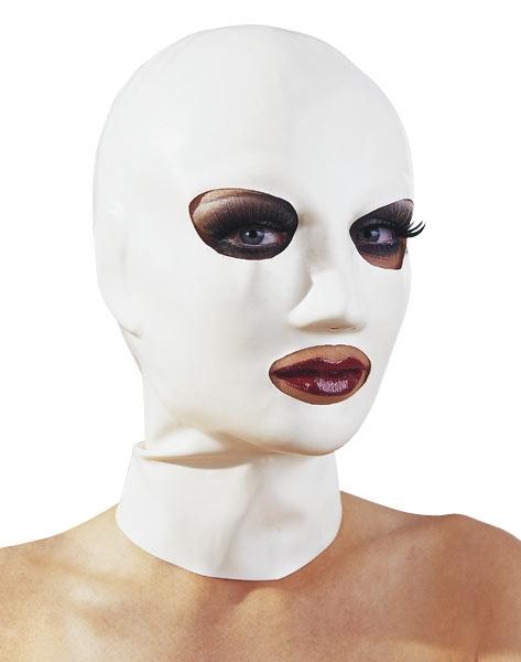Latex Maske weiss