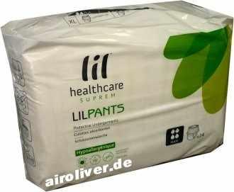 Lil healthcare suprem LILPANTS extra-large maxi, grau, XL, 15.25.03.2224, 14er Packung