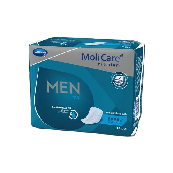 Molicare Men PAD 15.25.30.5097 , 4 Tropfen , 14er Packung