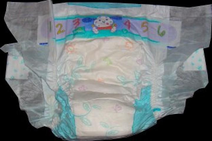 Luvs diaper vibrator