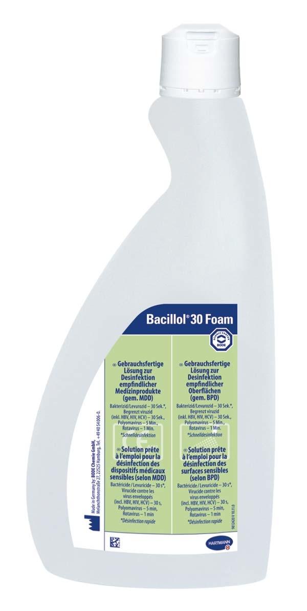 BACILLOL 30 FOAM o SPR KOP 750 ML