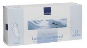 Latexhandschuhe gepudert, 100er Pkg