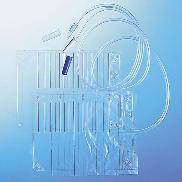 B.Braun URIN BTL. unsteril blaue Kappe tr. Konus 1500ml 15.25.06.0004