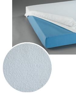 Su.Spannbettuch aus Polyester,PU-beschichtet