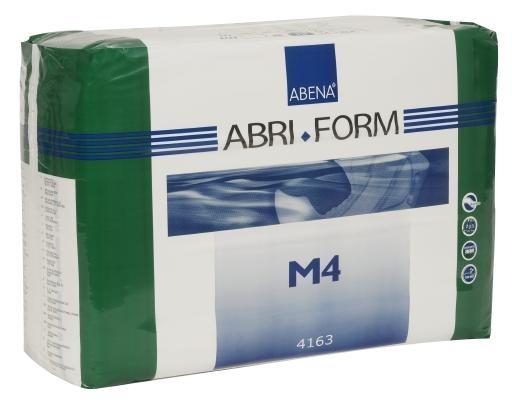 Abri Form M4 xPlus medium ,Slip,weiss , 15.25.03.1106, FOLIE 14er Packung