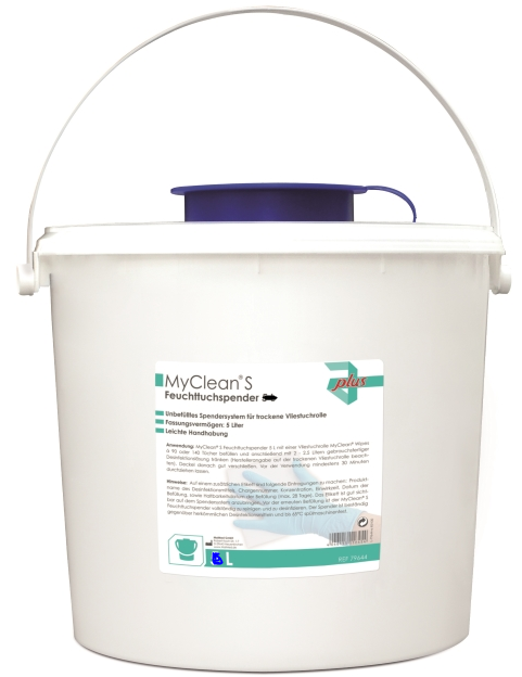 MYCLEAN S Feuttuchspender 3 Liter Eimer