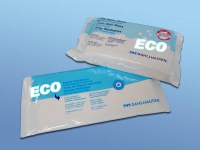 Dahlhausen feuchte Einmal-Waschtücher ECO, 8 St./Packung PZN06057225