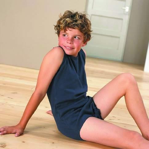 4care Kinder Body mit Drueckknopfverschluss im Schritt
