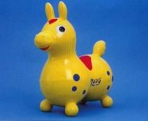 Rody Sprungpferd gelb / yellow
