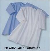 Suprima Patientenhemd Nr.4072 blau,kurzarm