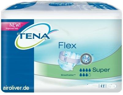Tena Flex Super Medium ,weiss/gruen ,15.25.31.7032 ,30er Packung