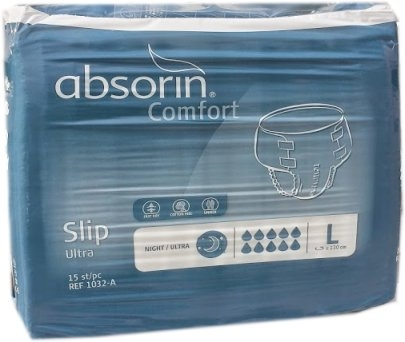 Absorin Slip Night Ultra Large 15.25.03.2173 , 15er Packung