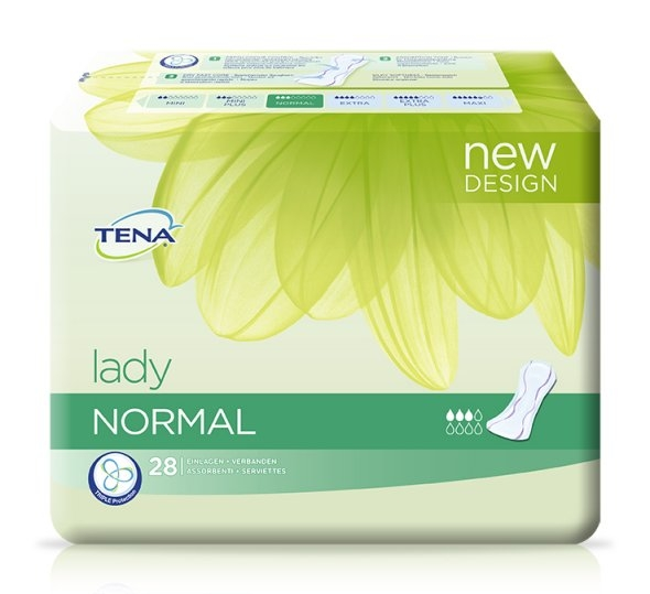 Tena Lady Normal Einlagen ,15.25.01.5144 ,28er Packung