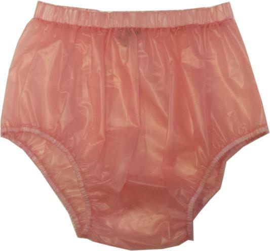 PUL PA13 Schlupfhose Slip PVC , transparent rosa PIT1