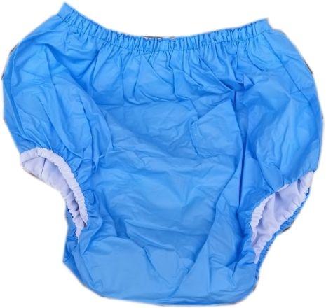 2033 Dicke Schlupfhose PVC-Baumwolle blau