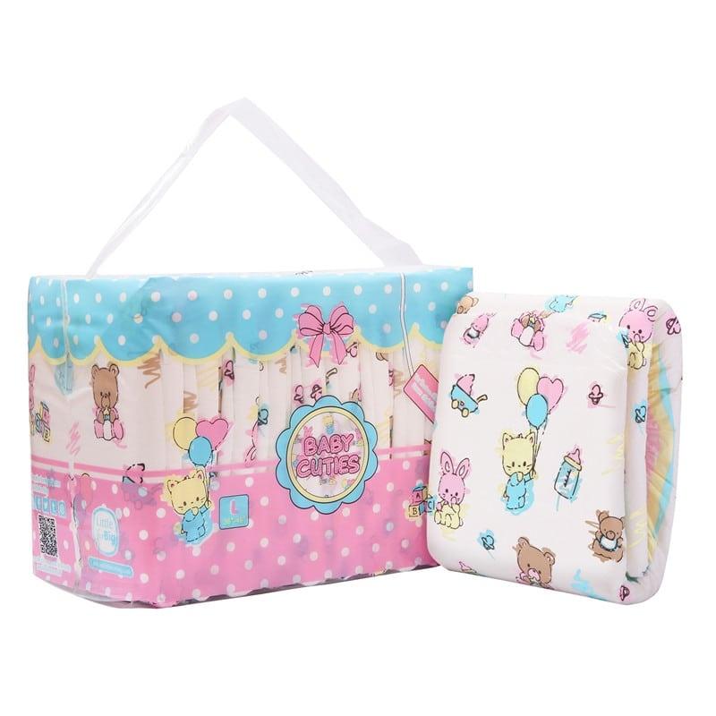 LFB Baby Cuties Adult Diaper, Medium , 10er Packung