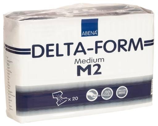 Delta-Form M2 Gr.M Inko-Slip,Nacht, 15.25.03.1171, 20er Packung