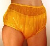 AC Medizinische Schutzhose aus PVC ,gelb-rot