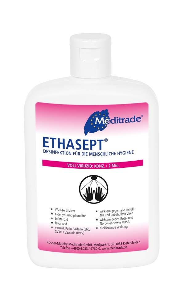 Ethasept Haendedesinfektion 150ml Kittelflasche 54.99.02.0001