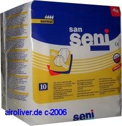 San Seni Vorlage NORMAL 15.25.01.1077 ,10er Packung