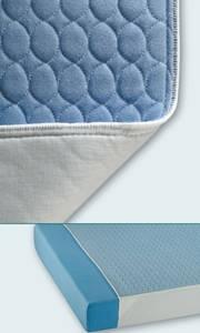 Suprima Bettauflage Nr.3106 , blau 75x160cm