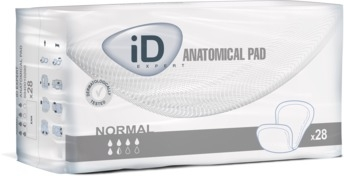 ID Expert Anatomical Pad Normal ,ohne Folie 26x53cm , 28er Packung