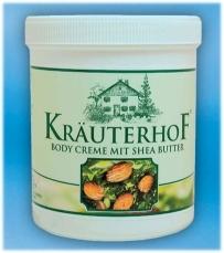 Kraeuterhof Body-Creme mit Shea Butter 250 ml