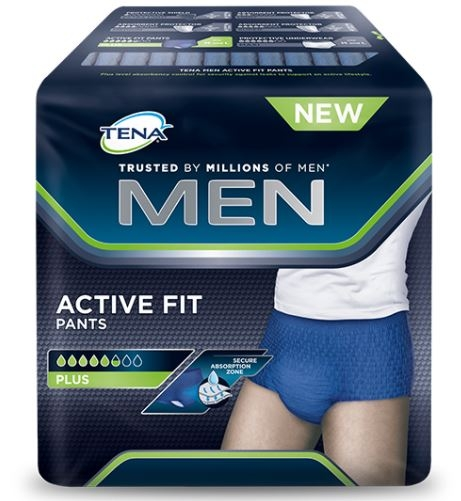 Tena Men Active Fit Pants Plus M ,12er Packung