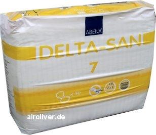 Delta-San Formvorlage No.7 Super,gelb ,15.25.01.1081 ,30er Packung