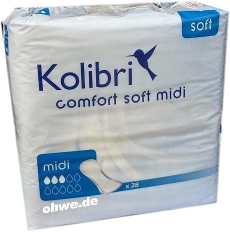 Kolibri Comfort Einlagen soft Midi 15.25.01.5225 ,28er Packung