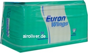 Euron Wings Extra ,Large weiss/lila 14er Packung