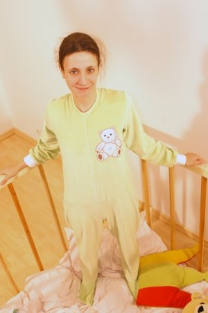 VBA Strampler Schmusi aus Babynicki , Handarbeit / handmade