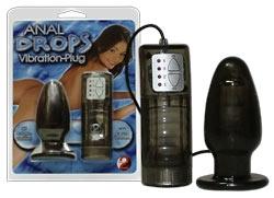Anal Drops Vibration-Plug
