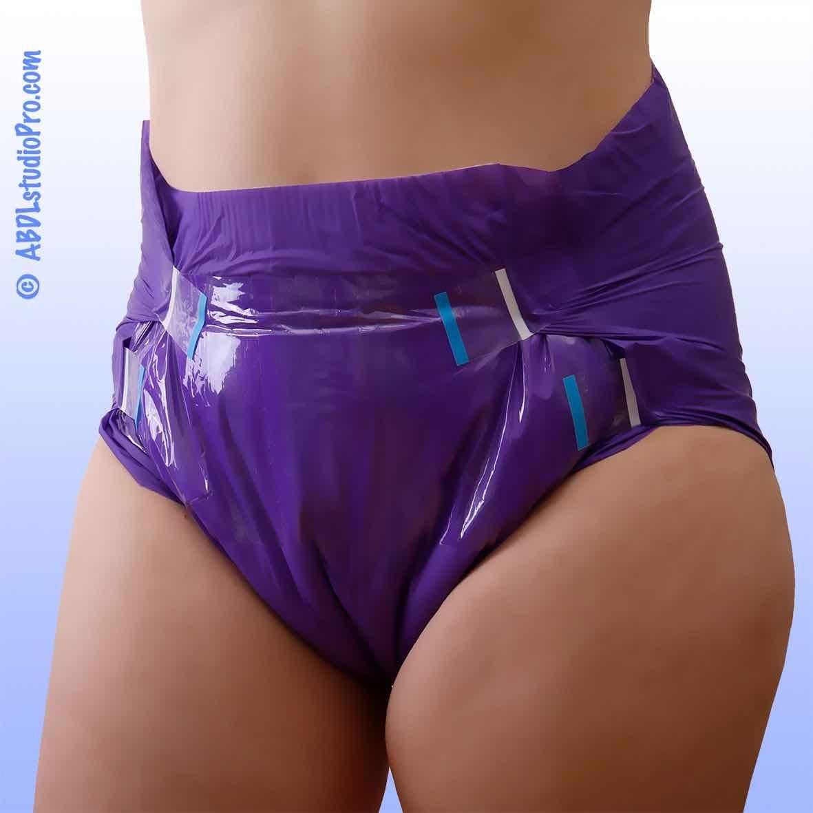 Seduction Windelhose medium Violet , Einzelstueck