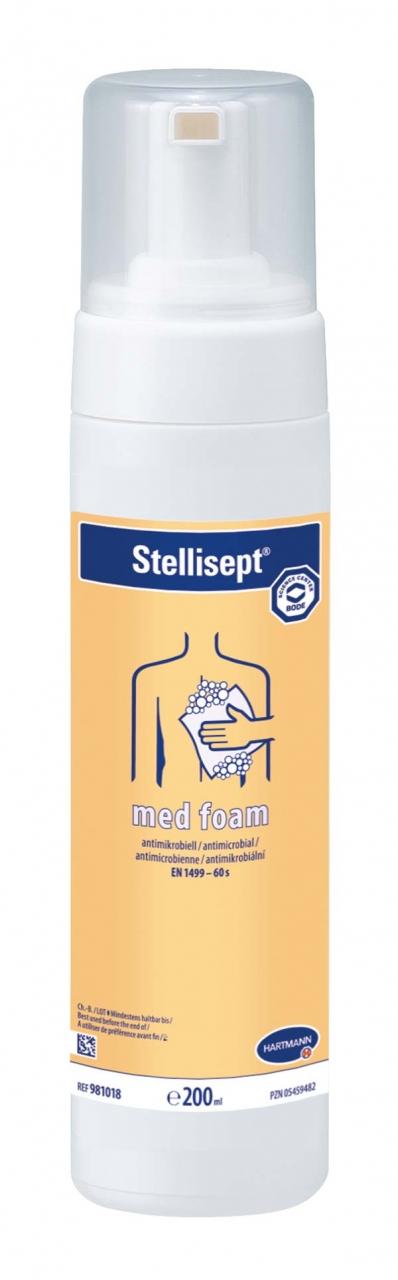 Stellisept MED Foam Reinigungsschaum 200ml