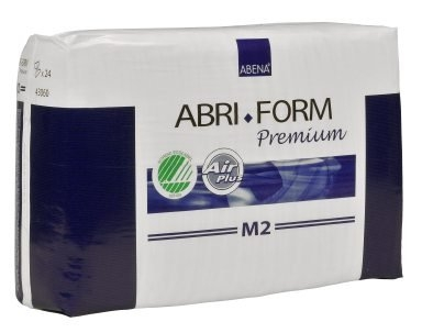 Abri Form Premium M2 Super medium ,Slip, weiss, 15.25.03.1091, 24er Packung