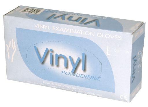Vinylhandschuhe puderfrei , 100er Pkg