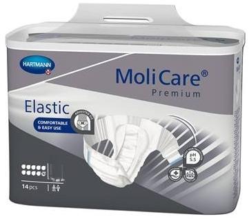 Molicare Premium Elastic Slip 10 Tropfen , xlarge weiss/grau ,15.25.31.8300 ,14er Packung