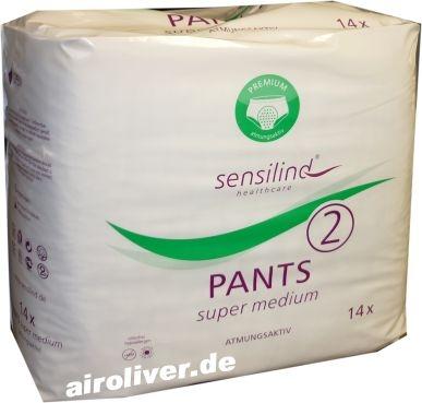 Sensilind Pants Super Medium 14er Packg. 15.25.03.1344