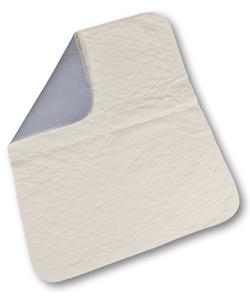 Abri-soft Krankenunterlage mit PU waschbar 75x85cm weiss/blau