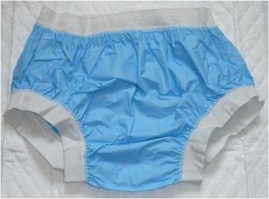 2207 PVC Ueberziehschutzhose No.1003 blau breiter Bund