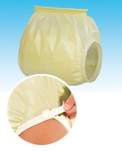Suprima Slip PVC No.1311 mit breiter Bund ,u.extra breiter Schritt